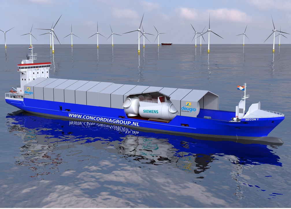 Siemens deugro Launch New Offshore Wind Logistics Concept