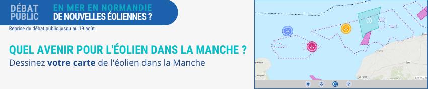 Commission Particulière du Débat Public de Normandie - « En mer, en Normandie, de nouvelles éoliennes ? »