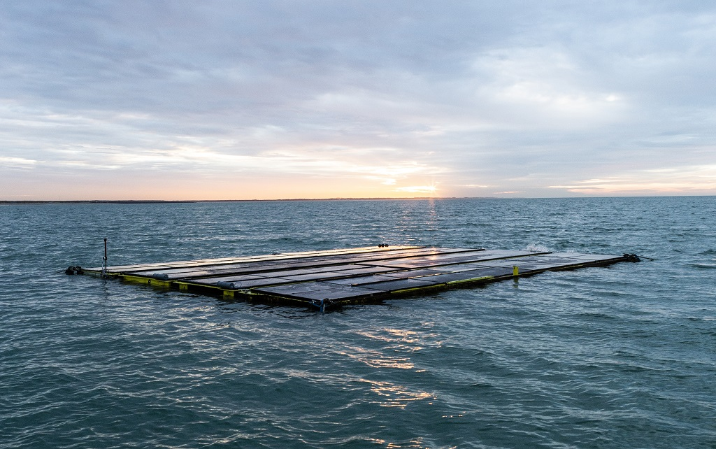 EDM 18 02 020 OceansofEnergyoffshore floating solar farm system doubled in size for website 1