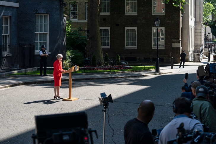 EDM 24 05 019Theresa May annonce demission devant 10 Downing Street 24 2019 0 729 486