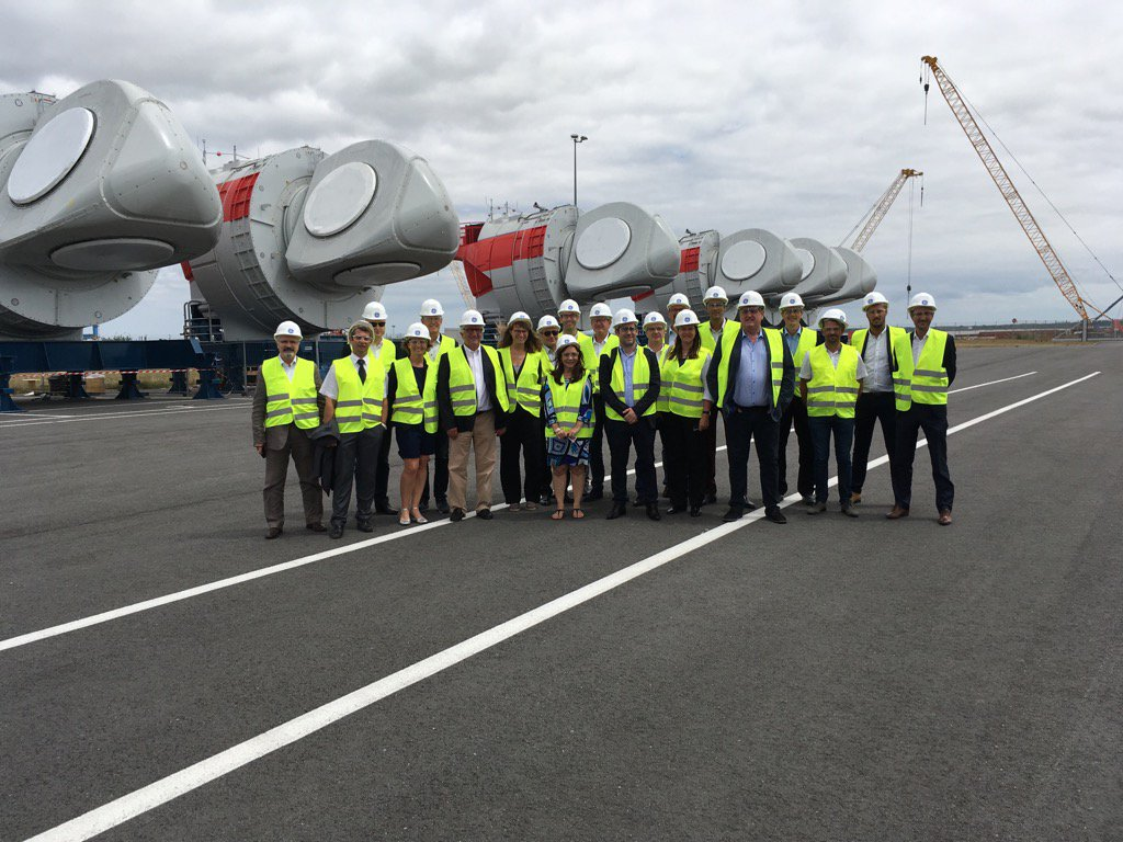 Visite de General Electric Montoir de Bretagne Vend 23 juin 2018