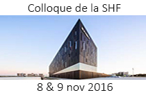 Colloque de la SHF