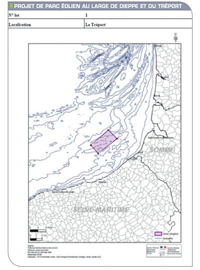 La CRE recommande de déclarer infructueux l'AO de Dieppe – Le Tréport