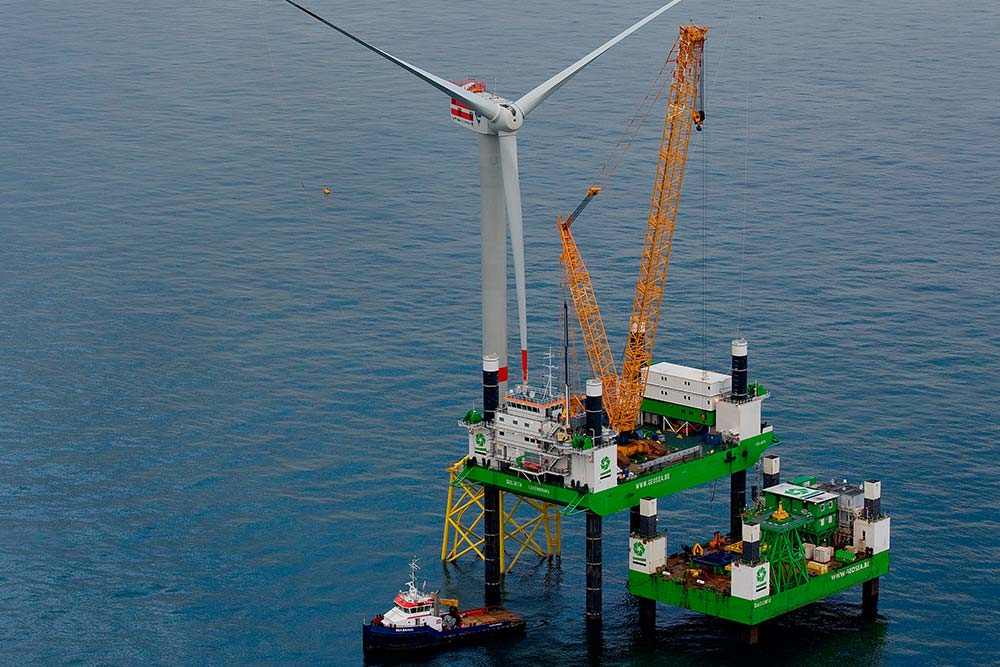 DEME Windreich Join Forces for Merkur Offshore 2