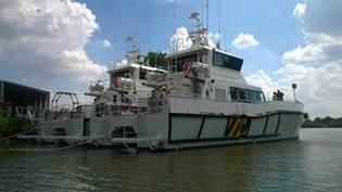 Deux WFSV Piriou construits au Vietnam sont prêts à la vente.