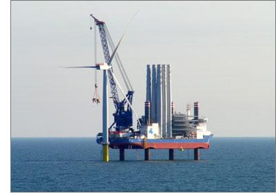 Iberdrola « boosté » par le West Duddon Sands Wind Farm