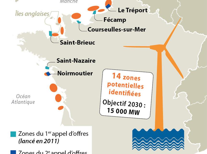 Saint-Nazaire – Demain, clôture de l'enquête publique pour le projet de parc éolien offshore