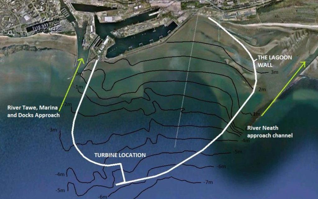 Les travaux de la station marémotrice de la Baie de Swansea sont retardés