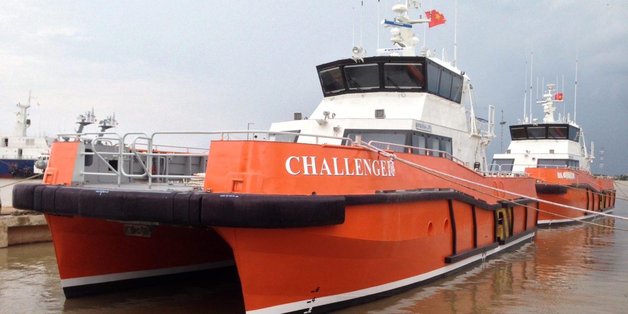 PIRIOU livre à North Sea Logistics deux navires