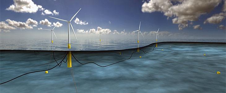 Statoil obtient l'autorisation pour construire une ferme pilote pour l'éolien flottant