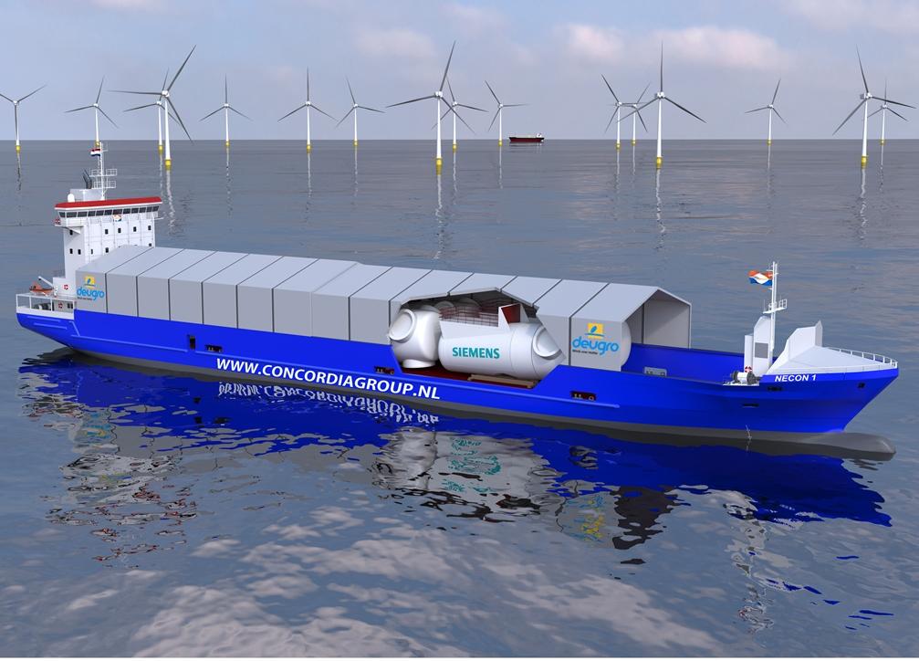 Siemens deugro Launch New Offshore Wind Logistics Concept