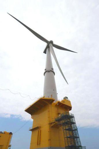 Un connecteur de câbles pour la plus grande éolienne flottante au monde