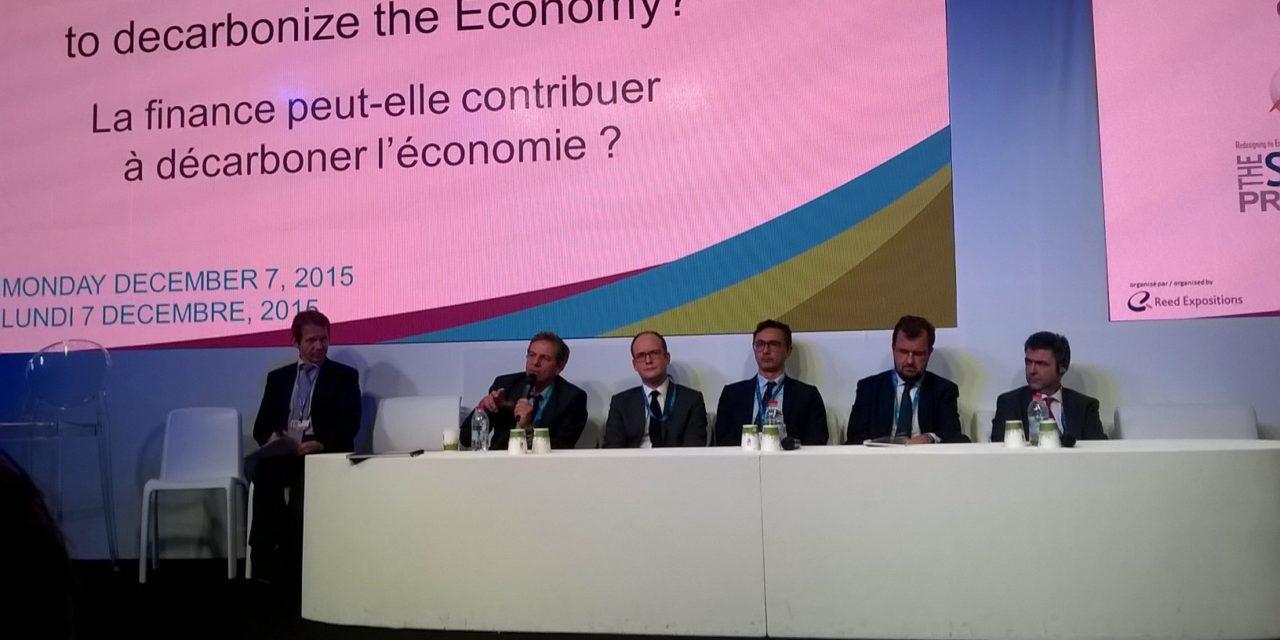 COP21 : Le financement revu et corrigé par 26 institutions financières