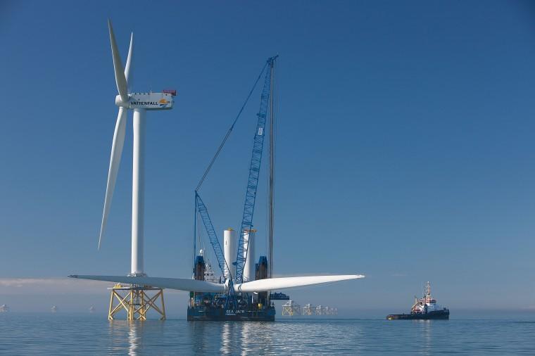 L'Inde soutenue par la commission européenne lance son 1er parc éolien offshore