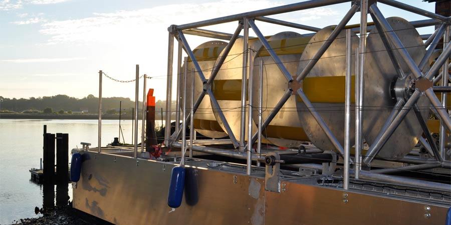 COP21 – Bertin Technologies vise l'hydrolien fluvial