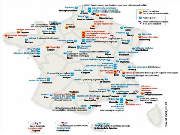 Vers une réforme des pôles de compétitivité en cohérence avec les Régions