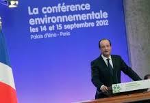La 4è conférence environnementale (française) reportée