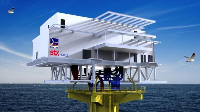 STX et RENTEL inaugurent la sous-station Q34