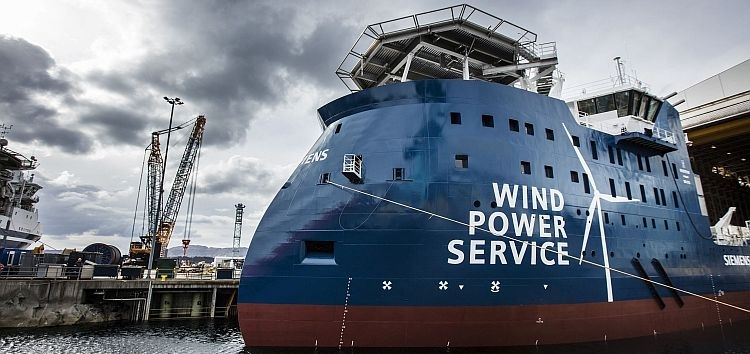 Ulstein sort son premier navire pour BS et Siemens