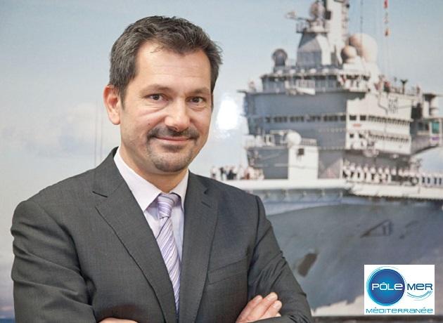 François Demoulin, nommé directeur du Centre DCNS de Toulon