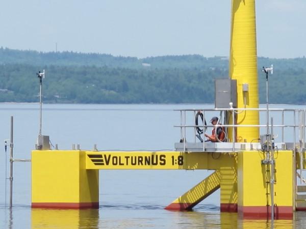 DCNS : Eolienne flottante – la recherche avec l'Université du Maine (Etats-Unis)
