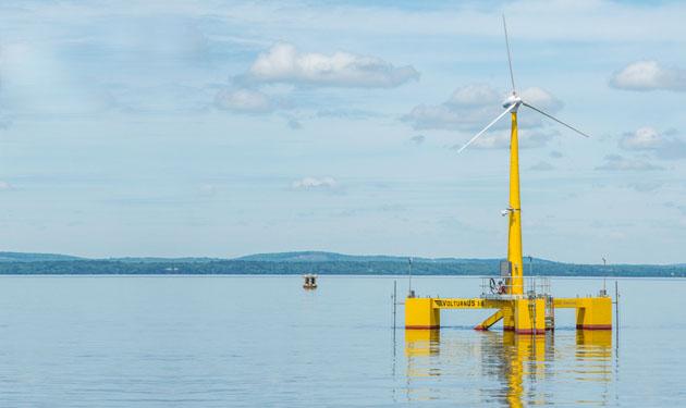 DCNS mise sur deux technologies de flotteur pour l'éolien flottant