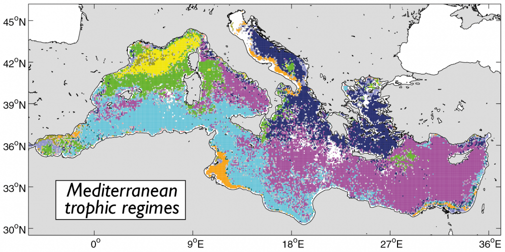 Phytoplancton en Méditerranée : Thèse de Nicolas MAYOT au LOV