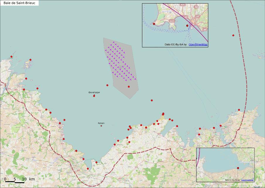 Eolien en mer à Saint Brieuc : Fin d'une attente