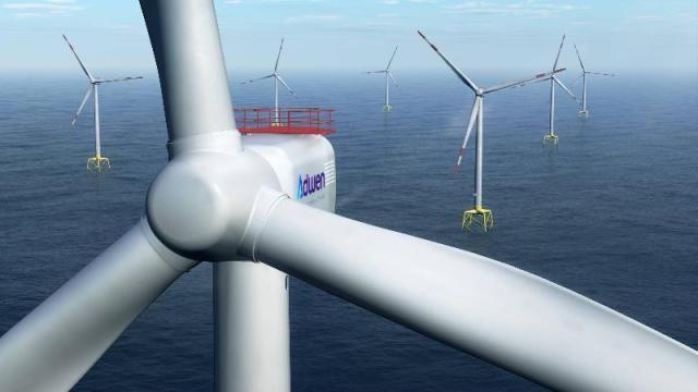 saint brieuc avis favorable pour le parc eolien offshore