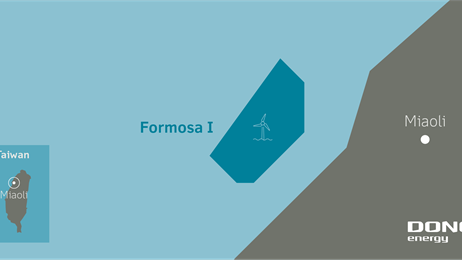 DONG Energy et Macquarie Capital visent le projet éolien offshore taïwanais Formosa I