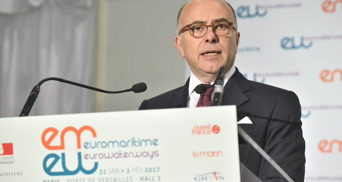 Un bilan pour l'économie bleue par Bernard Cazeneuve à l'occasion du Salon Euromaritime-Eurowaterways