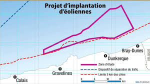 Dunkerque : Les cartes d'identité des 10 préqualifiés pour le futur parc éolien en mer