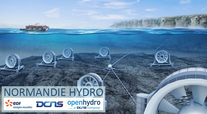 Hydrolien : Feu vert pour le parc pilote du Raz Blanchard