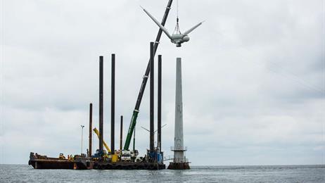 Recyclage des lames d'éoliennes