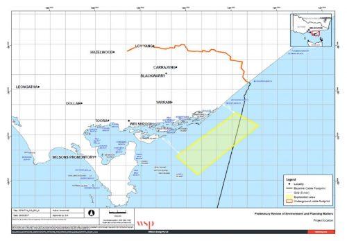 Offshore wind farm EDM0506017