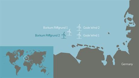 Borkum Riffgrund2 Map EDM0808017