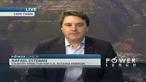 Acciona Energy nomme Rafael Esteban président pour l'Amérique du Nord