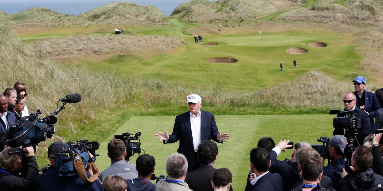 Ecosse : Le groupe Trump empêché de construire un 2ème parcours de golf