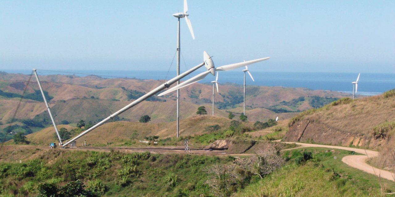Les éoliennes Vergnet GEV MP C ont résisté à l'ouragan IRMA