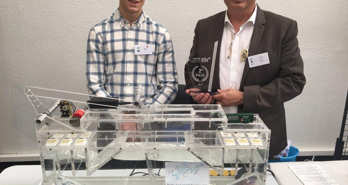 Le projet Houlomoteur Hace reçoit le prix de la Fondation E5t.