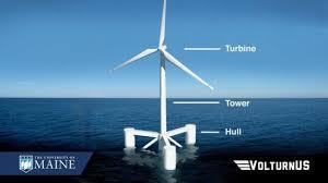 Aqua Ventus : Le concept de sa fondation VolturnUS validé