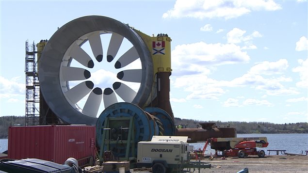 OpenHydro Fundy EDM2610017