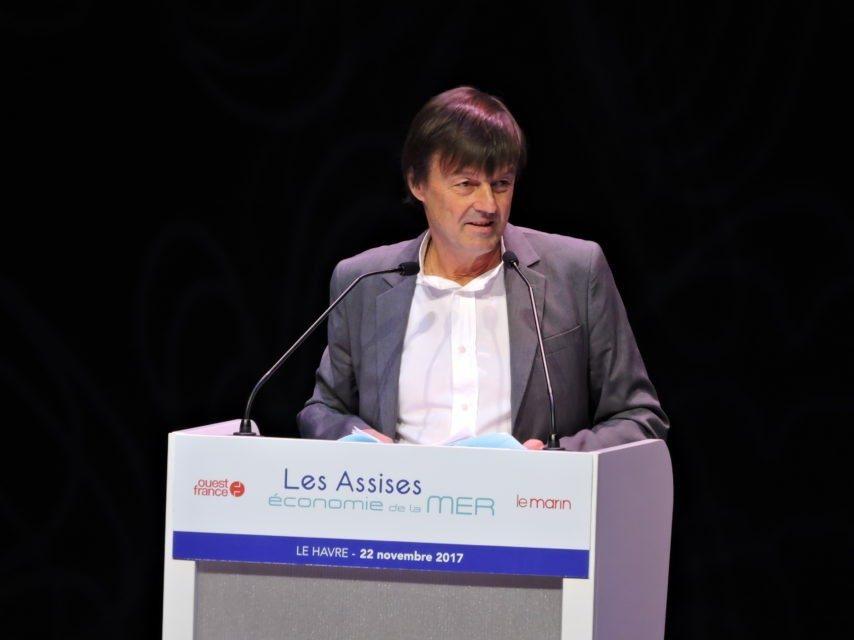 Discours de Nicolas Hulot aux Assises économie de la mer