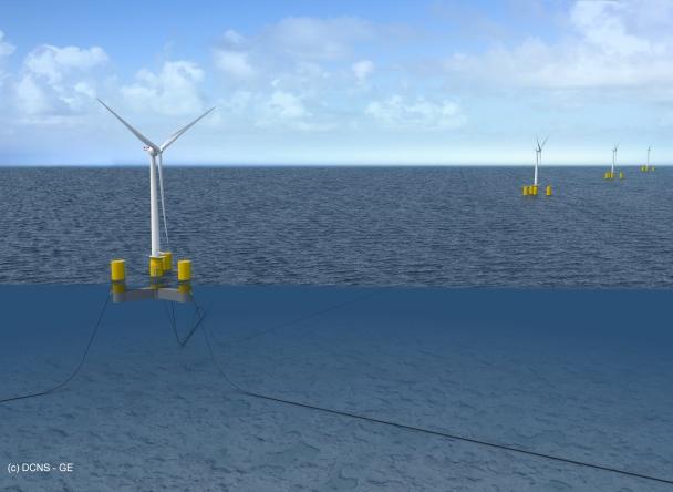 eolien flottant Naval Energies 26072016