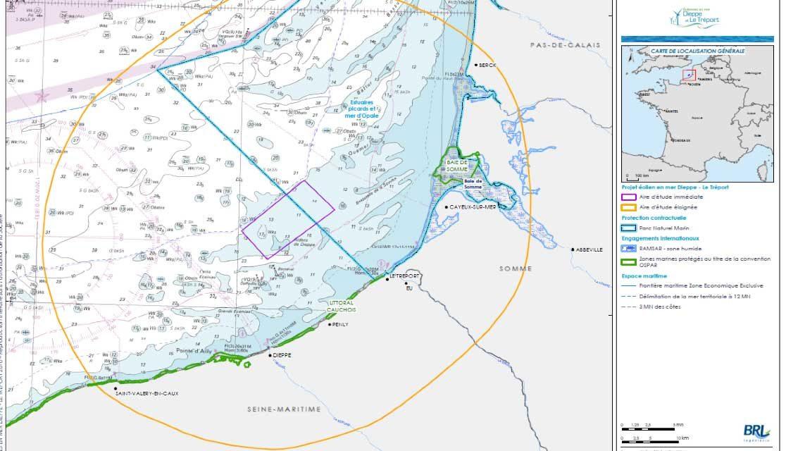 Appel d'offre de l'AFB pour le parc naturel marin des estuaires picards et de la mer d'Opale