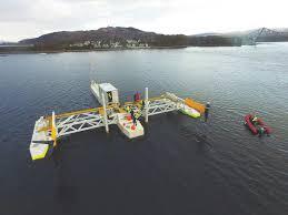 Le système d'énergie PLAT-I est installé avec les turbines Schottel Hydro