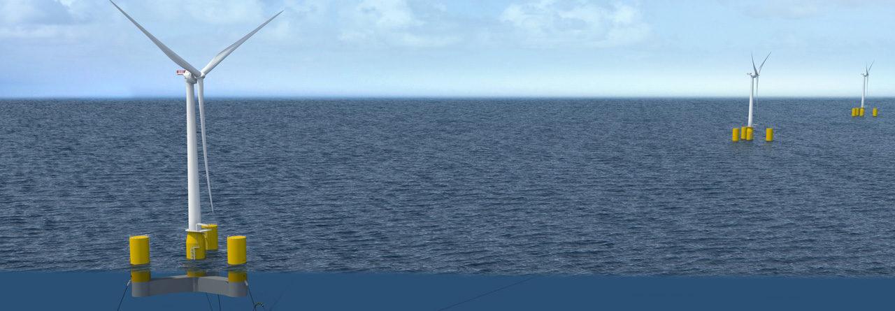 Eolfi : Demande d'autorisation pour les 4 éoliennes flottantes de Groix & Belle-Ile