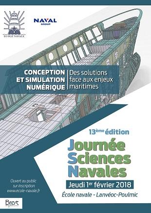 Journée Sciences Navales « Focus sur la conception et simulation numérique »