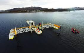 Schottel Hydro mise sur les plates-formes hydroliennes