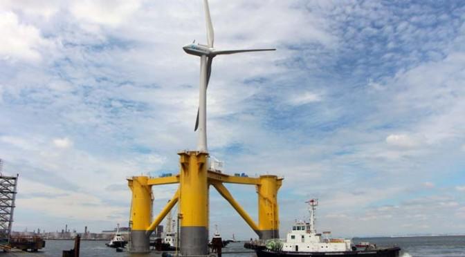 Appels d'offre au Japon pour l'éolien flottant et posé